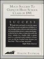 1991 Glencoe High School Yearbook Page 226 & 227