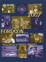 2007 Yearbook Fordson High School