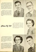1954 Medicine Lake High School Yearbook Page 14 & 15