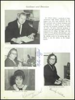 1966 Newcomerstown High School Yearbook Page 12 & 13