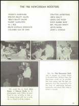 1966 Newcomerstown High School Yearbook Page 128 & 129