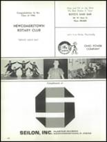 1966 Newcomerstown High School Yearbook Page 152 & 153