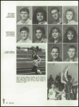 1989 Baird High School Yearbook Page 24 & 25