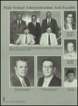 1989 Baird High School Yearbook Page 34 & 35