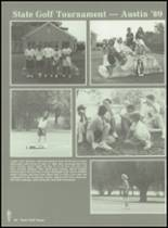 1989 Baird High School Yearbook Page 68 & 69