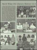 1989 Baird High School Yearbook Page 90 & 91