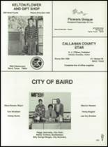 1989 Baird High School Yearbook Page 162 & 163