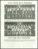 1983 Axtell High School Yearbook Page 70 & 71