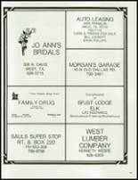 1983 Axtell High School Yearbook Page 106 & 107
