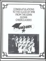 1998 John Glenn High School Yearbook Page 196 & 197