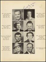 1953 Clyde High School Yearbook Page 12 & 13