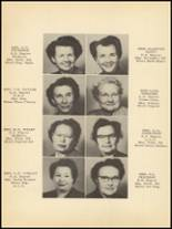 1953 Clyde High School Yearbook Page 14 & 15