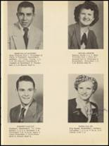 1953 Clyde High School Yearbook Page 16 & 17