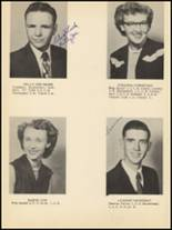 1953 Clyde High School Yearbook Page 20 & 21