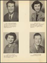 1953 Clyde High School Yearbook Page 22 & 23