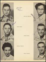 1953 Clyde High School Yearbook Page 30 & 31