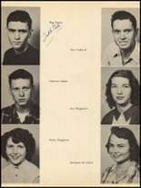 1953 Clyde High School Yearbook Page 34 & 35