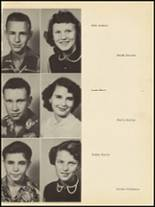 1953 Clyde High School Yearbook Page 36 & 37