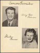 1953 Clyde High School Yearbook Page 54 & 55