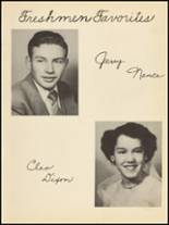 1953 Clyde High School Yearbook Page 56 & 57