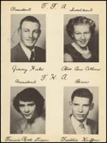 1953 Clyde High School Yearbook Page 58 & 59
