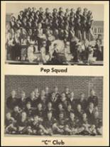 1953 Clyde High School Yearbook Page 62 & 63