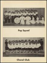 1953 Clyde High School Yearbook Page 100 & 101