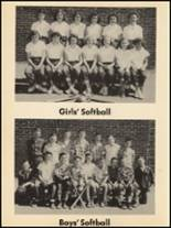 1953 Clyde High School Yearbook Page 104 & 105