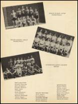 1953 Clyde High School Yearbook Page 106 & 107