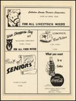 1953 Clyde High School Yearbook Page 114 & 115