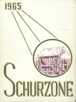 1965 Yearbook Schurz High School