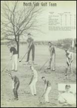 1963 North Side High School Yearbook Page 120 & 121