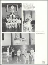 1990 Bentworth High School Yearbook Page 84 & 85