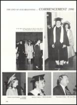 1990 Bentworth High School Yearbook Page 110 & 111