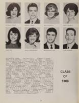 1966 Wickliffe High School Yearbook Page 36 & 37
