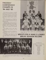 1966 Wickliffe High School Yearbook Page 128 & 129