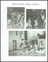 1973 Jefferson Moore High School Yearbook Page 86 & 87
