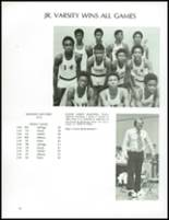 1973 Jefferson Moore High School Yearbook Page 92 & 93