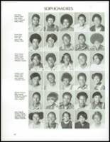 1973 Jefferson Moore High School Yearbook Page 132 & 133