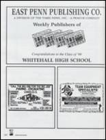 1999 Whitehall High School Yearbook Page 184 & 185