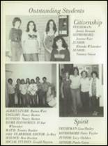 1980 Eula High School Yearbook Page 16 & 17