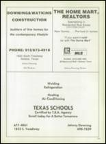 1980 Eula High School Yearbook Page 108 & 109