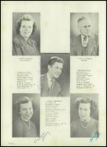 1951 Harrison Township High School Yearbook Page 14 & 15