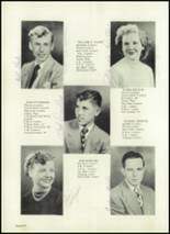 1951 Harrison Township High School Yearbook Page 16 & 17