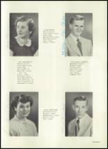 1951 Harrison Township High School Yearbook Page 18 & 19