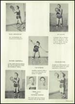 1951 Harrison Township High School Yearbook Page 38 & 39