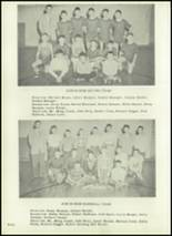 1951 Harrison Township High School Yearbook Page 42 & 43
