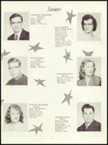 1954 Panama High School Yearbook Page 12 & 13