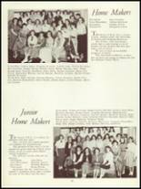 1954 Panama High School Yearbook Page 46 & 47