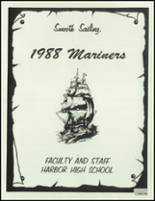 1988 Harbor High School Yearbook Page 190 & 191